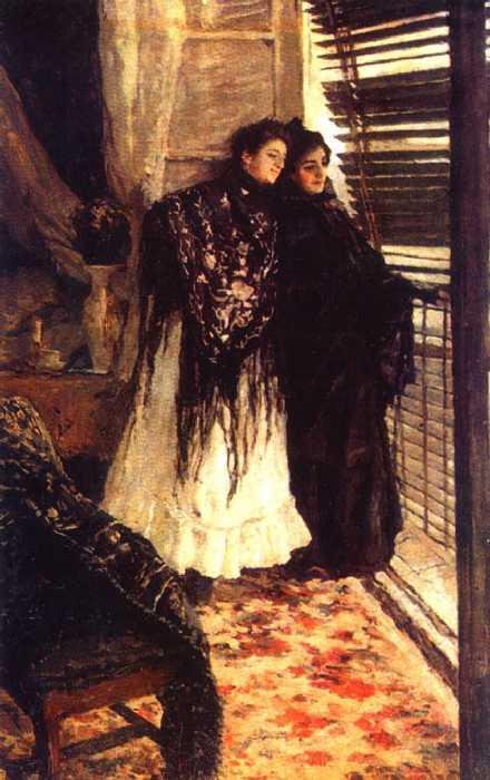 У балкона. Испанки Леонора и Ампара — Коровин Константин Алексеевич