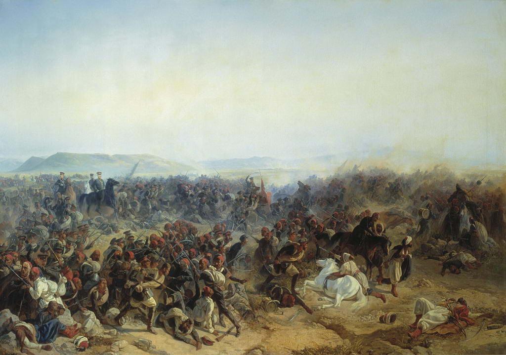 Сражение при селении Кюрюк-Дара в окрестностях крепости Карс 24 июля 1854 года — Байков Федор Ильич