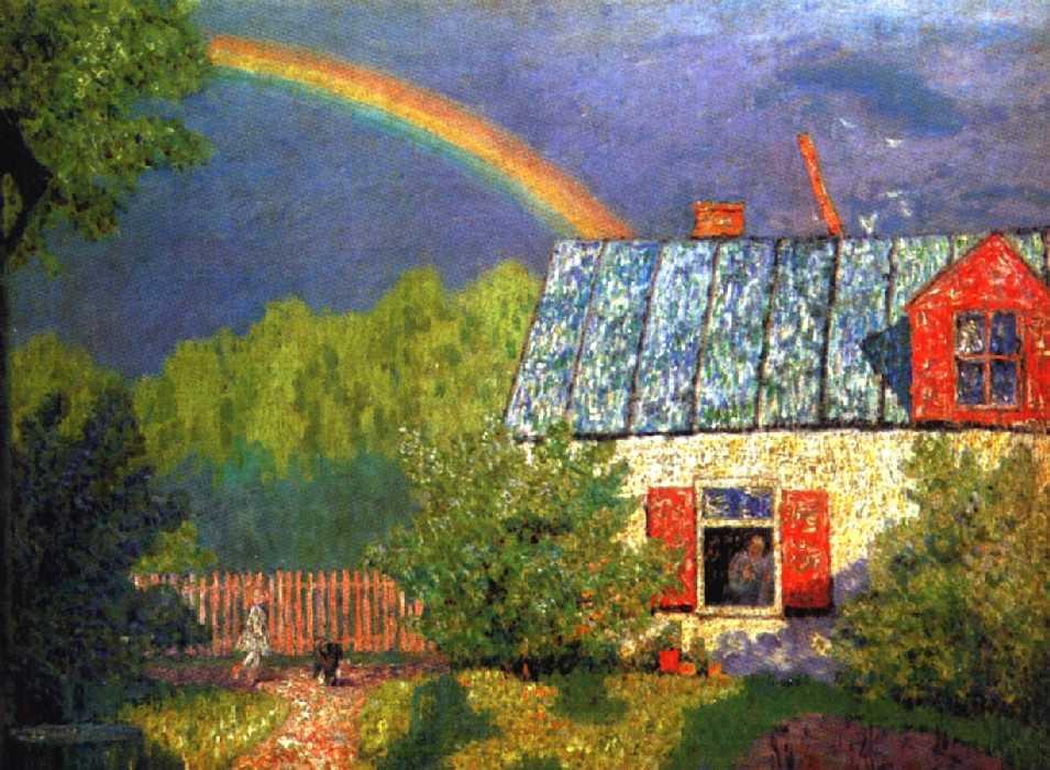 После весеннего дождя — Крымов Николай Петрович