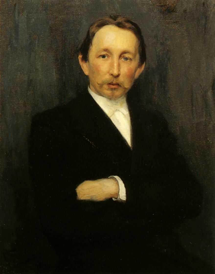 Портрет А.М.Васнецова — Кузнецов Николай Дмитриевич