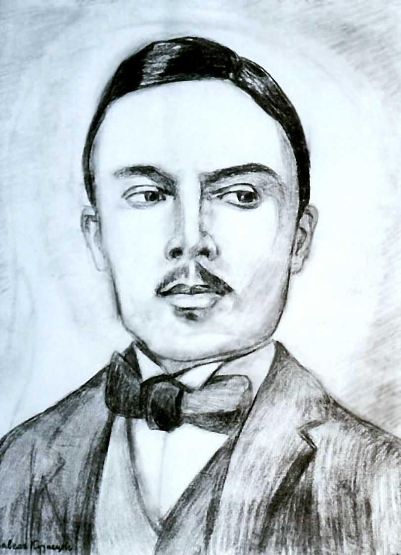 Портрет Н.Сапунова — Кузнецов Павел Варфоломеевич