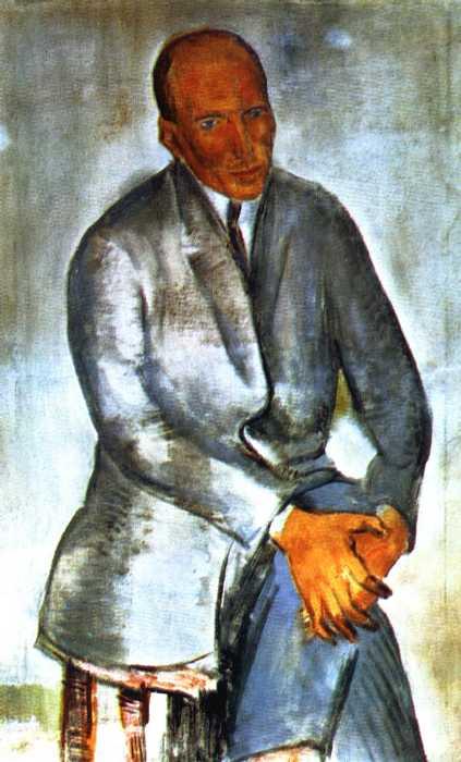Портрет скульптора А. Т. Матвеева. — Кузнецов Павел Варфоломеевич