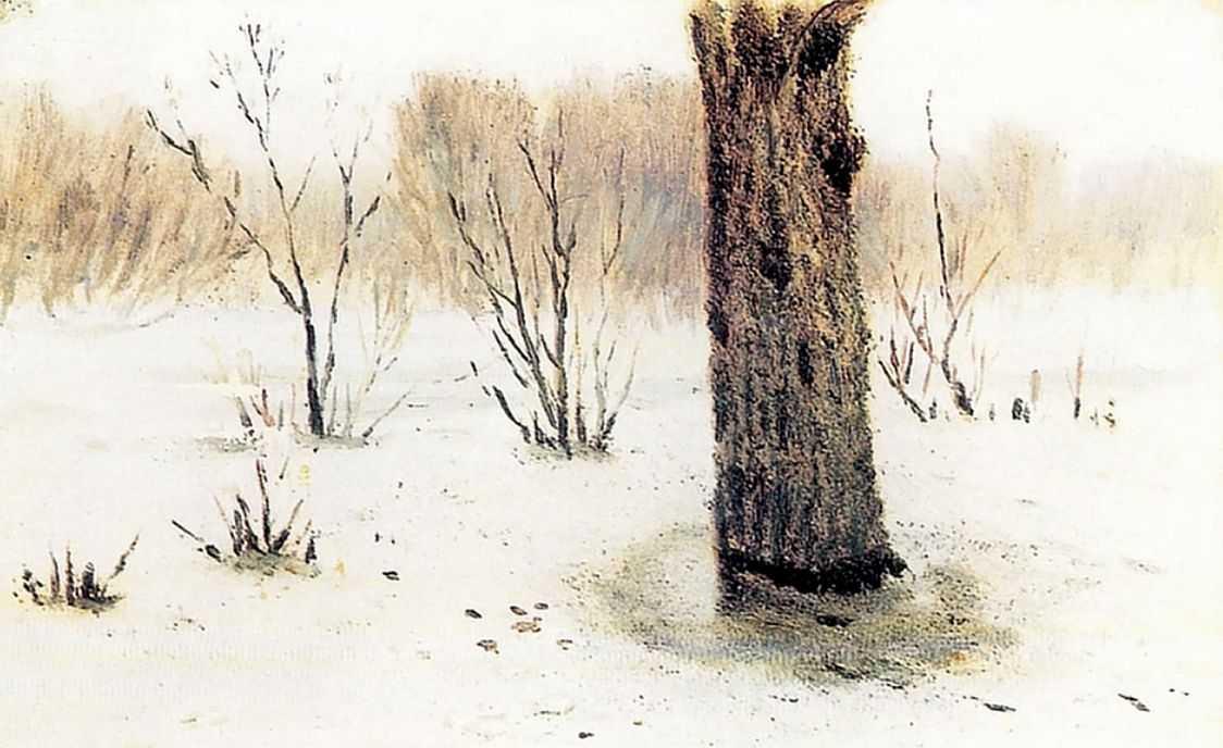 Зима. Оттепель — Куинджи Архип Иванович