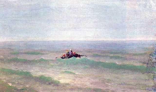 Лодка в море. Крым — Куинджи Архип Иванович
