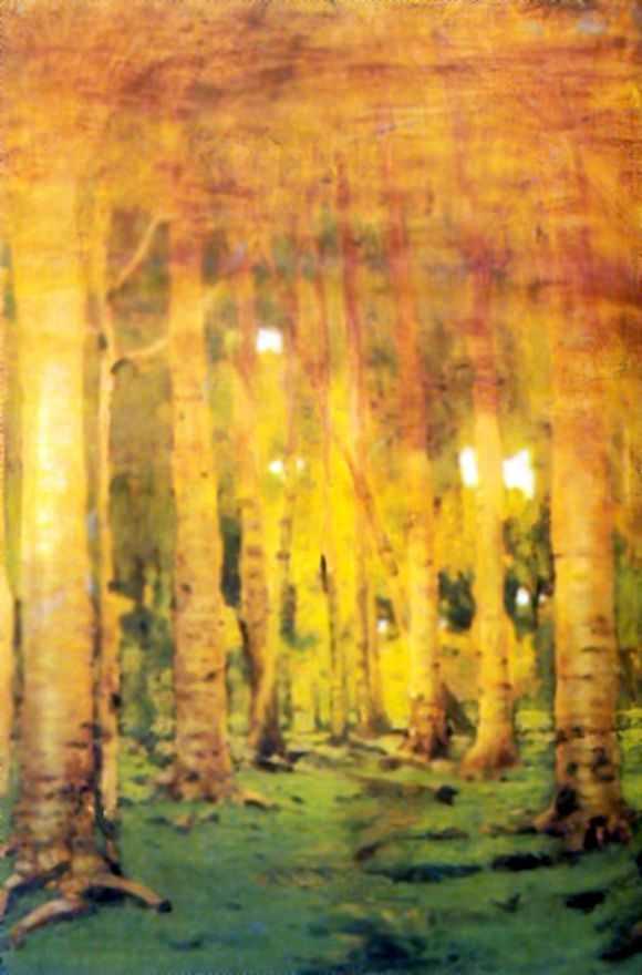 Березовая роща. Пятна солнечного света — Куинджи Архип Иванович