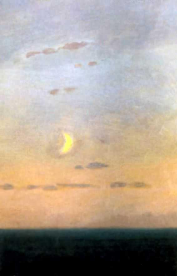На фоне заката — Куинджи Архип Иванович