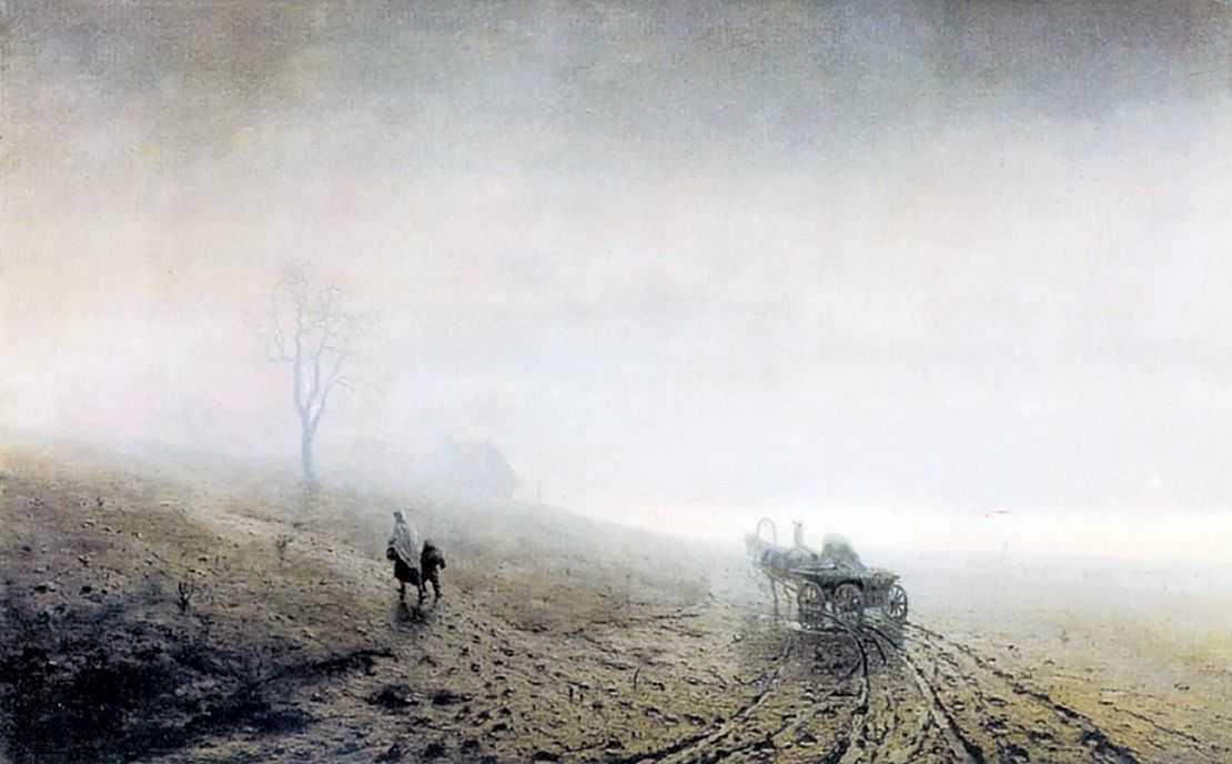 Осенняя распутица — Куинджи Архип Иванович