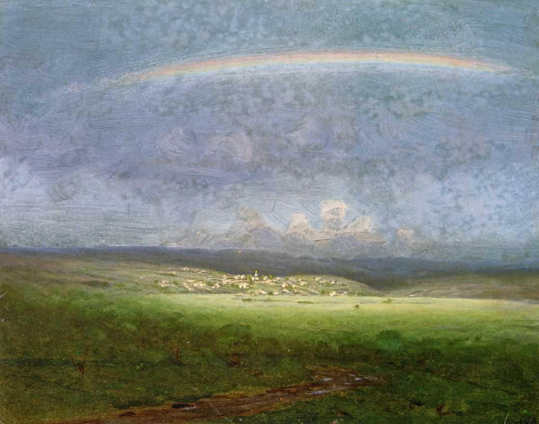 После дождя. Радуга — Куинджи Архип Иванович