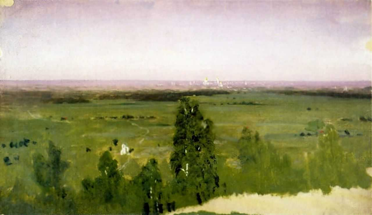 Вид на Москву с Воробьевых гор — Куинджи Архип Иванович