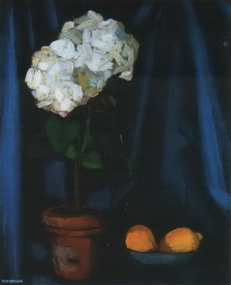 Натюрморт с лимонами — Лемпицка Тамара