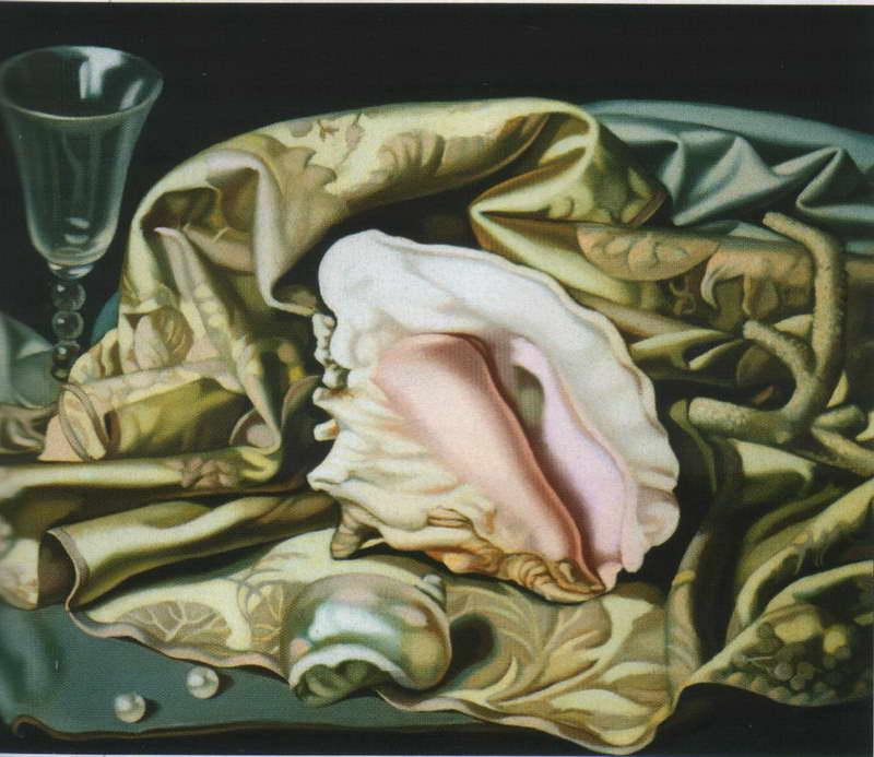 Натюрморт с раковиной — Лемпицка Тамара