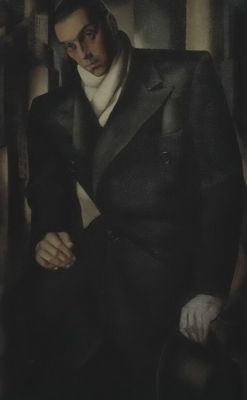 Портрет Тадеуша Лемпицкого — Лемпицка Тамара