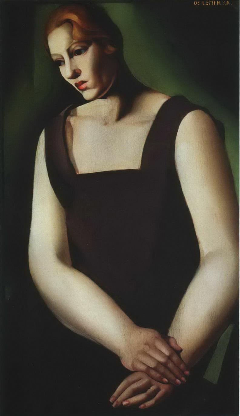 Усталость (Портрет женщины). — Лемпицка Тамара