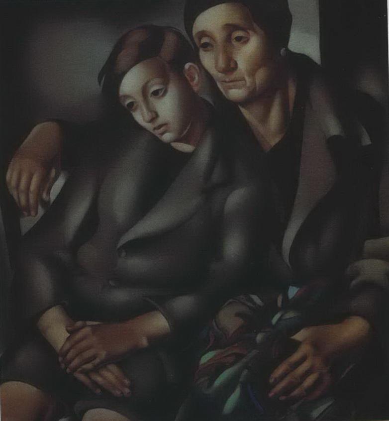 Эмигранты — Лемпицка Тамара