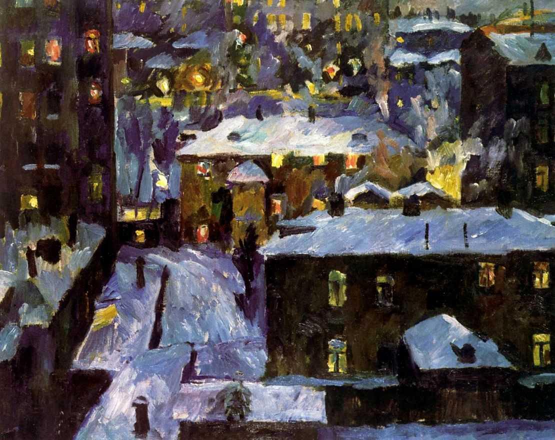Ночь на Патриарших прудах — Лентулов Аристарх Васильевич