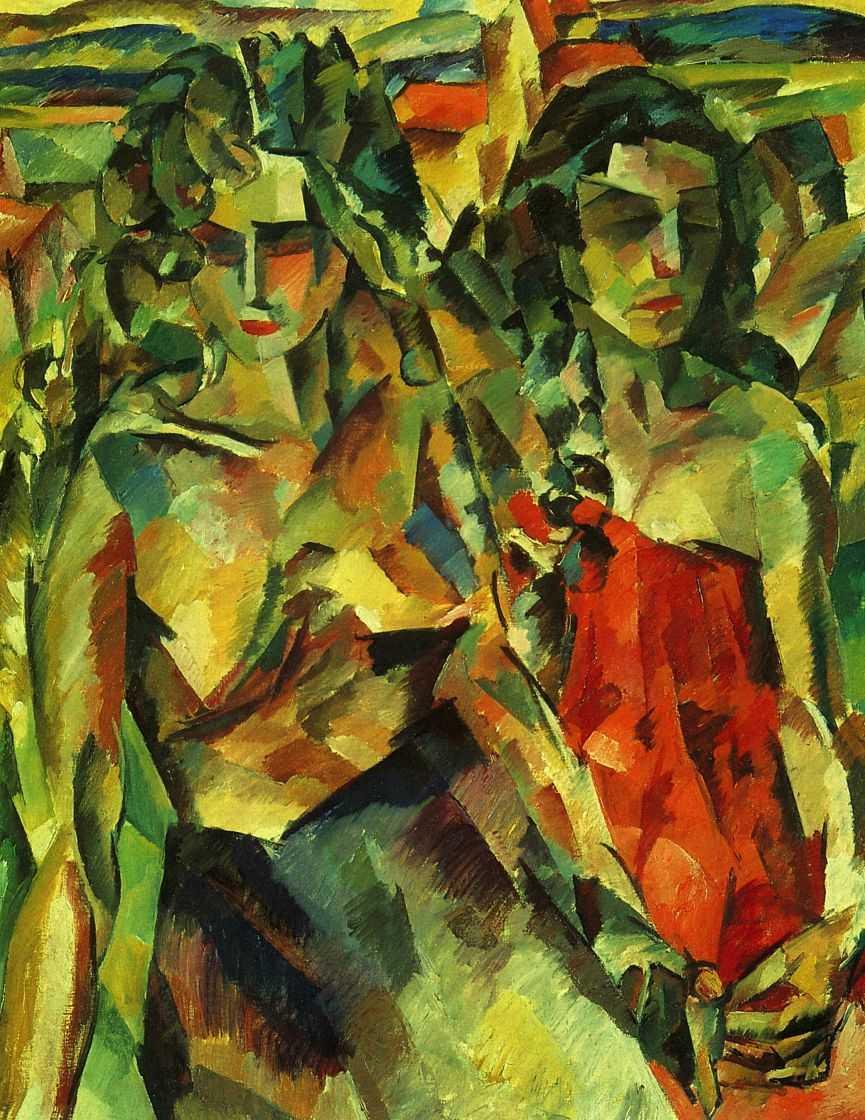 Две женщины — Лентулов Аристарх Васильевич