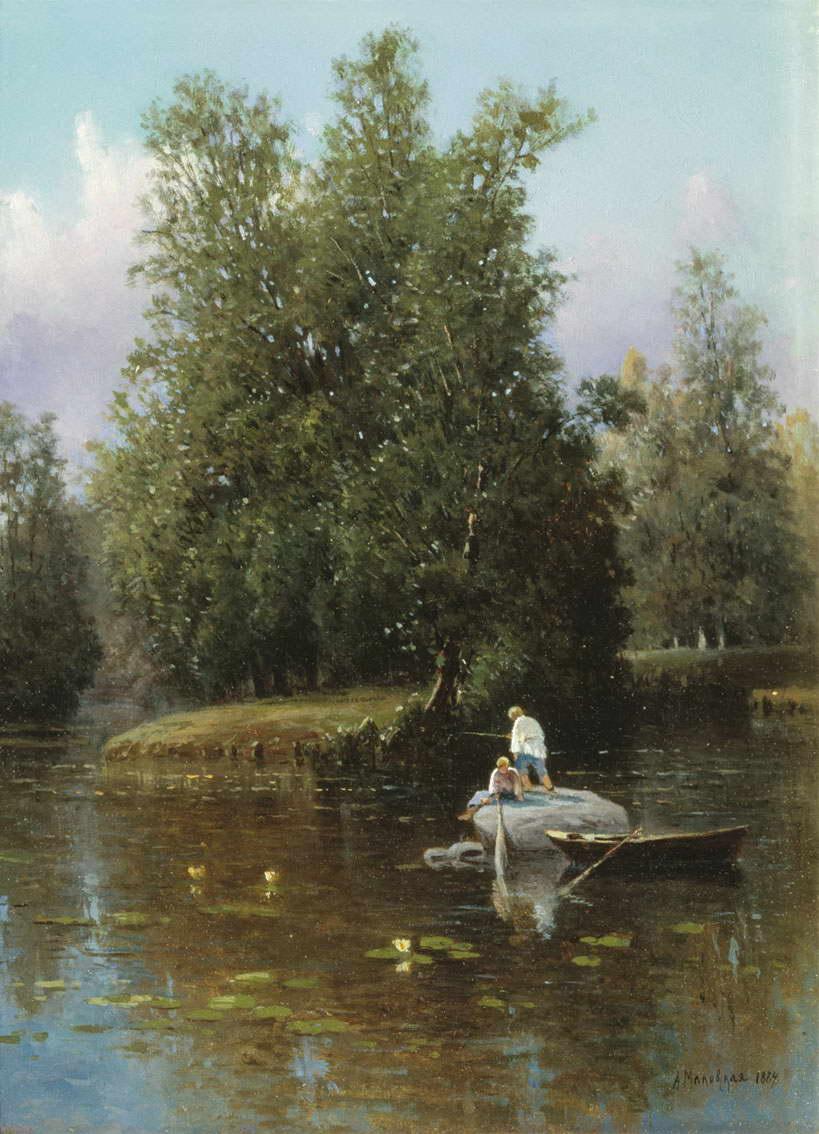 В окрестностях Петербурга — Маковская Александра Егоровна