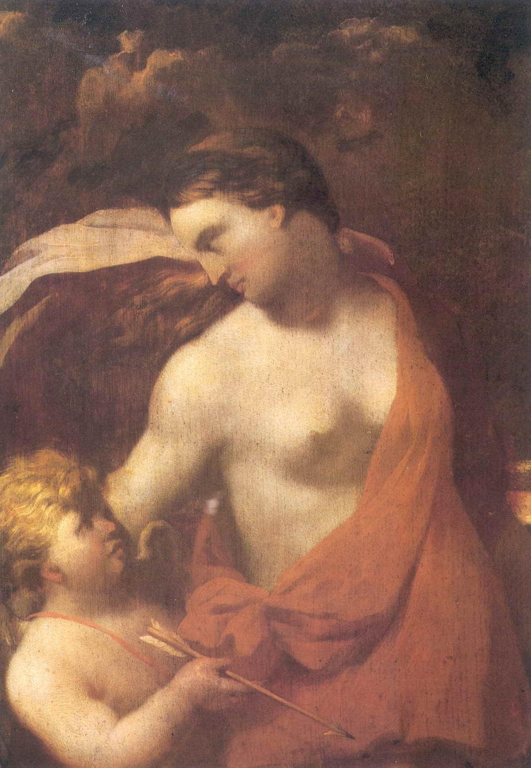 Венера и Амур — Матвеев Андрей Матвеевич