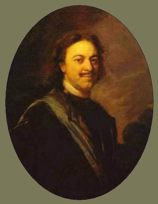 Портрет Петра Великого — Матвеев Андрей Матвеевич