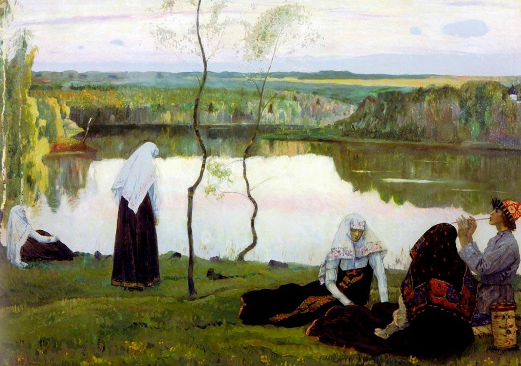 Монахини — Нестеров Михаил Васильевич