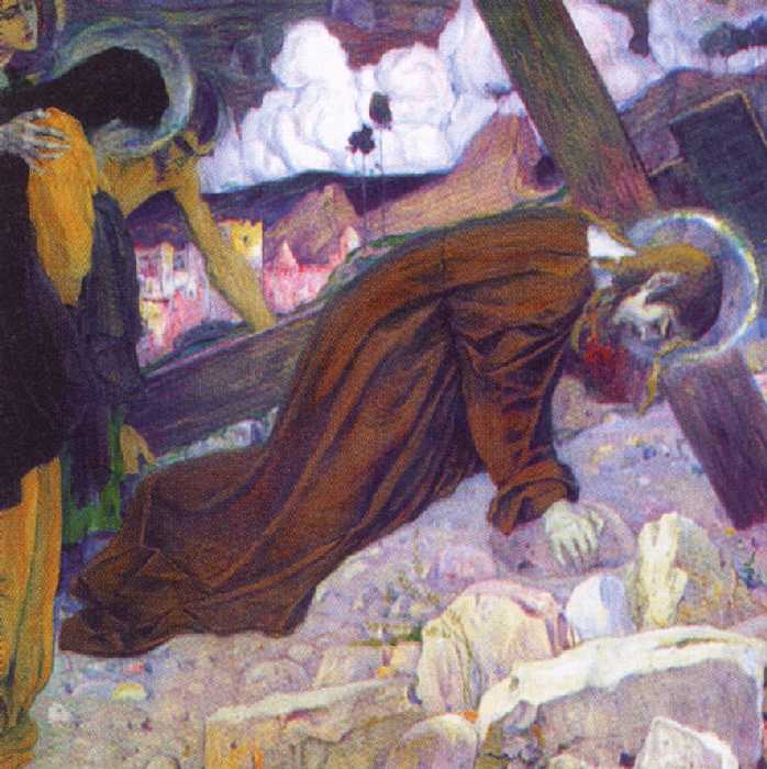Несение креста — Нестеров Михаил Васильевич