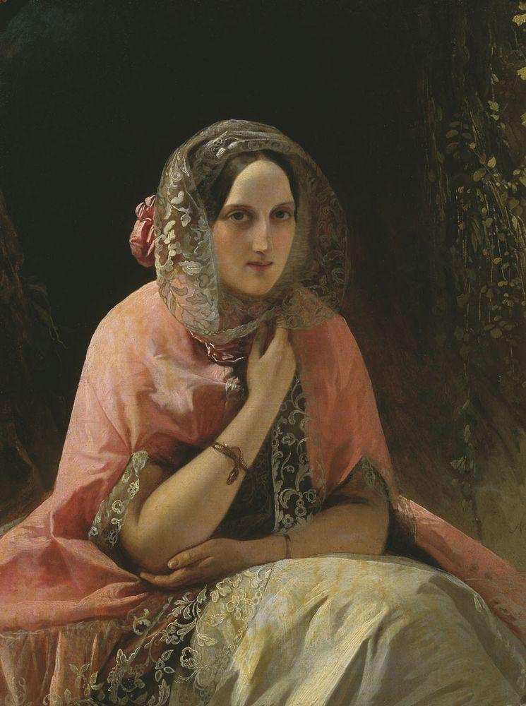 Портрет великой кн. Марии Николаевны — Нефф Тимофей Андреевич