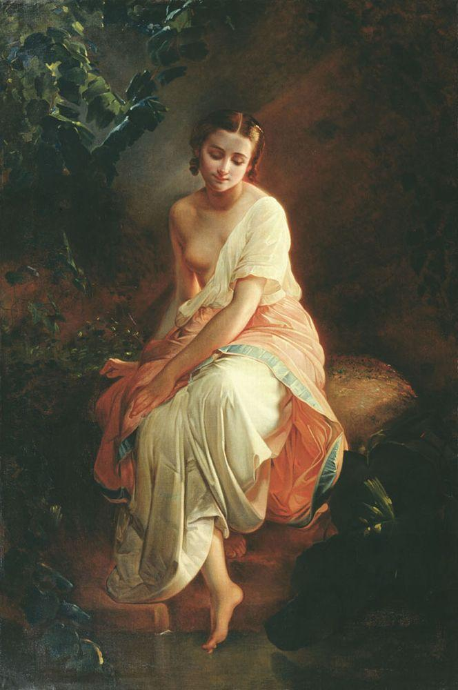Купальщица — Нефф Тимофей Андреевич