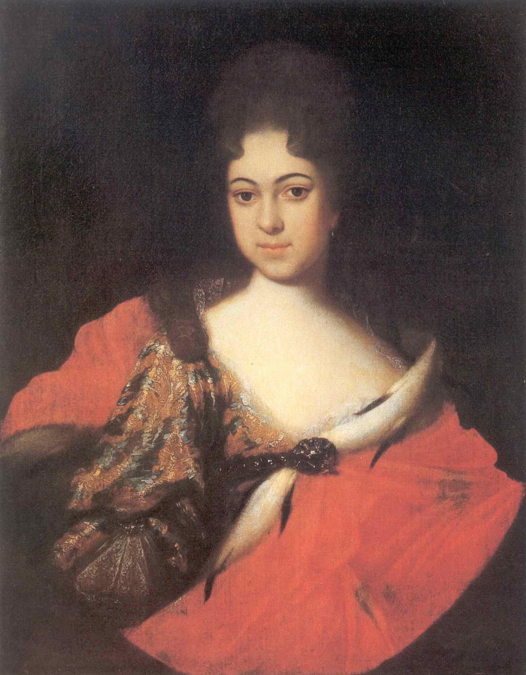 Портрет царевны Прасковьи Иоанновны — Никитин Иван Никитич