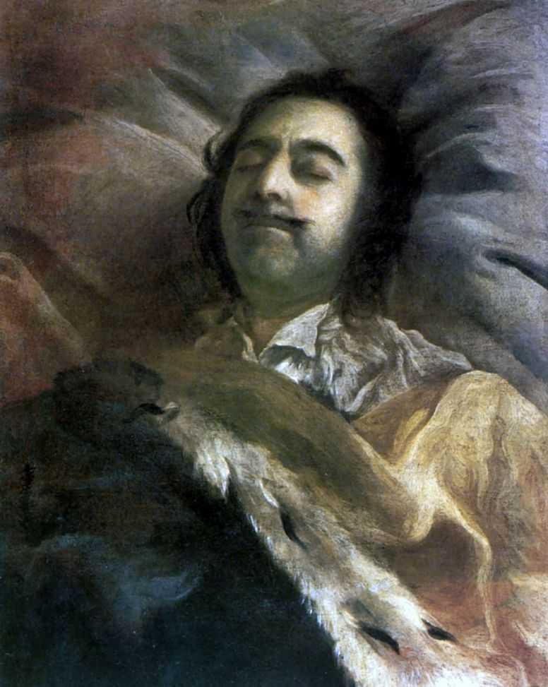 Петр I на смертном ложе — Никитин Иван Никитич