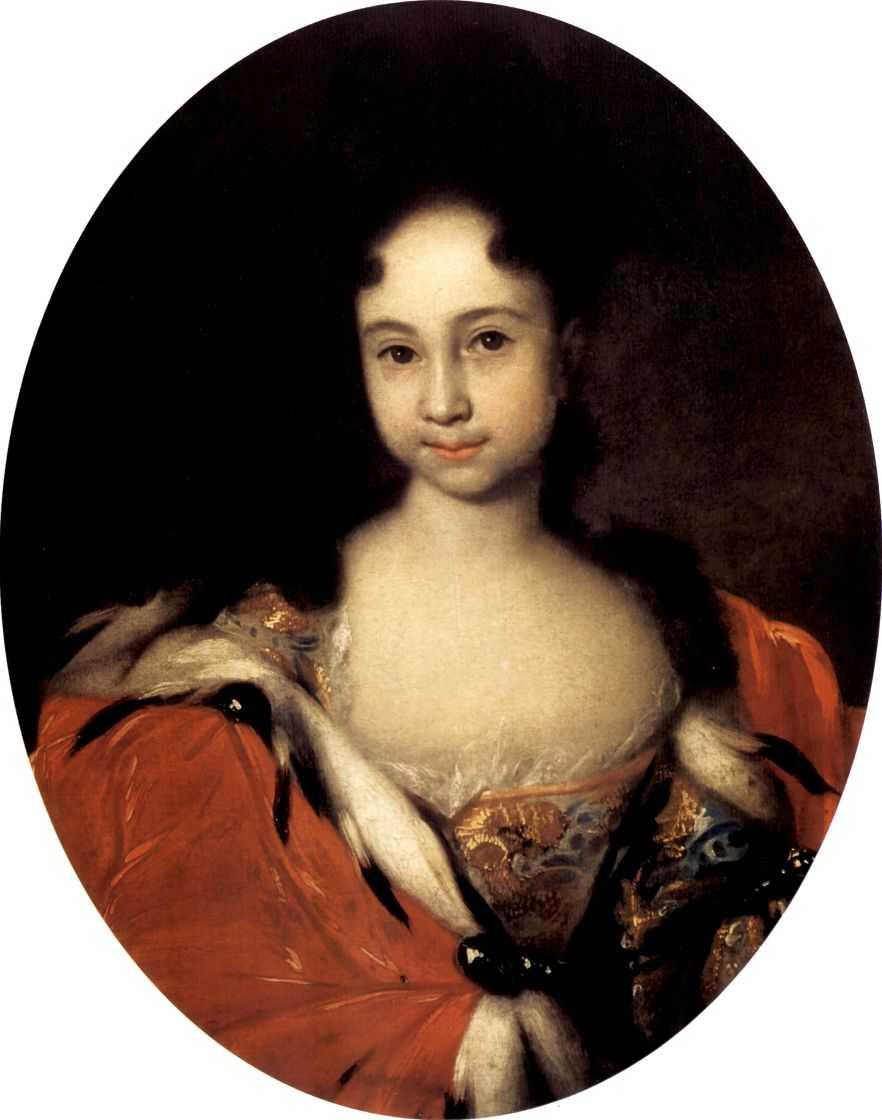 Портрет Анны Петровны, дочери Петра — Никитин Иван Никитич