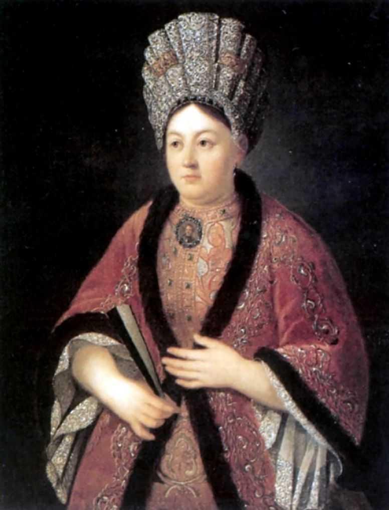 Портрет Марии Яковлевны Строгановой — Никитин Иван Никитич