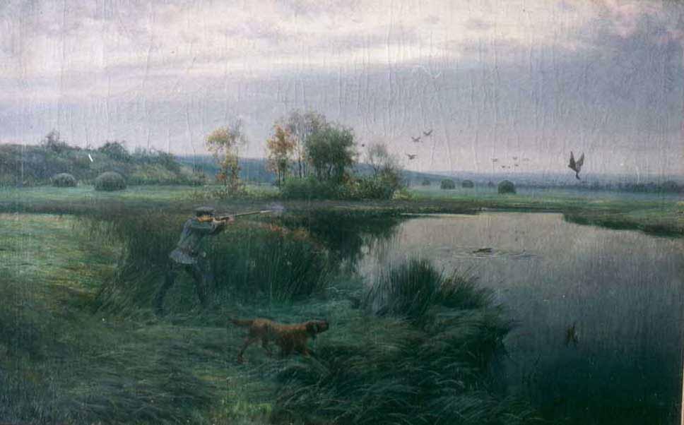 Охотник на лугах — Батурин Виктор Павлович