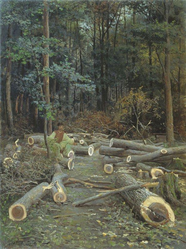 Рубка леса — Батурин Виктор Павлович