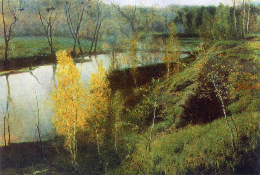Первая зелень — Остроухов Илья Семенович