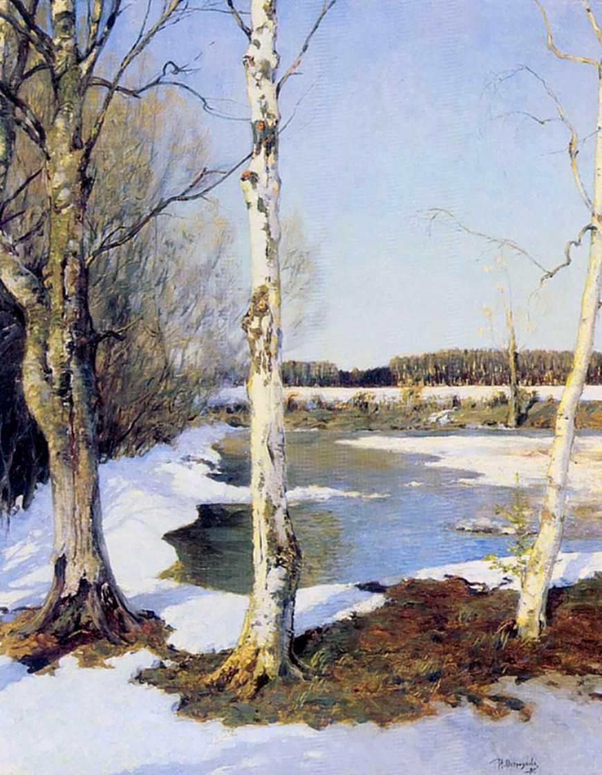 Ранняя весна — Остроухов Илья Семенович
