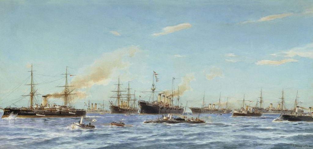 Корабли, построенные в 1883-1896 годах на Балтийском судостроительном заводе — Беггров Александр Карлович