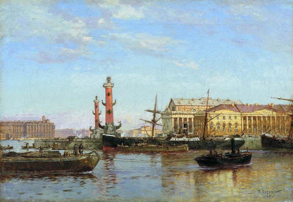 Петербург со стороны Невы. — Беггров Александр Карлович