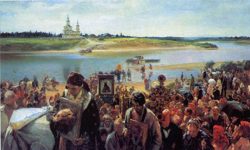 Крестный ход — Прянишников Илларион Михайлович