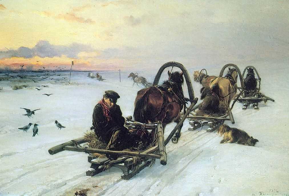Порожняки — Прянишников Илларион Михайлович