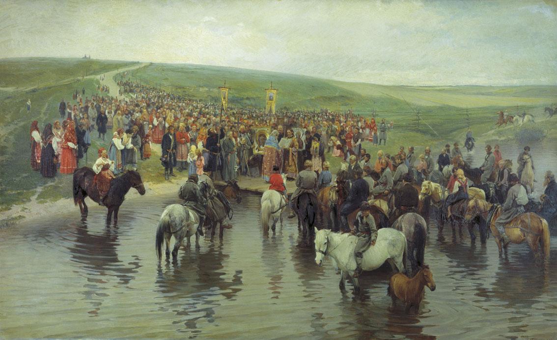 Спасов день на Севере — Прянишников Илларион Михайлович
