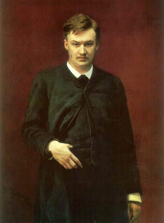 Портрет композитора А.К.Глазунова. — Репин Илья Ефимович