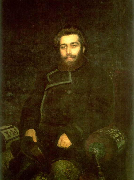 Портрет художника А.И.Куинджи — Репин Илья Ефимович