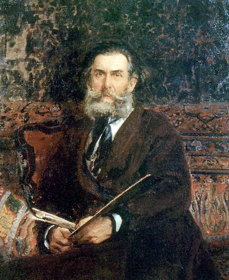 Портрет художника А.П.Боголюбова — Репин Илья Ефимович