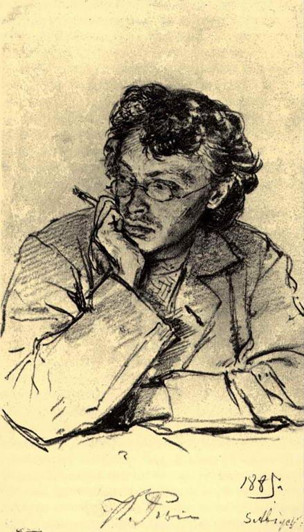 Портрет художника К.К.Первухина — Репин Илья Ефимович