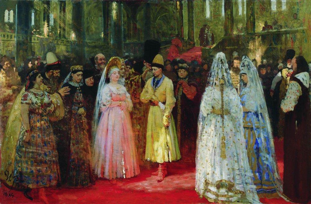 Выбор великокняжеской невесты — Репин Илья Ефимович