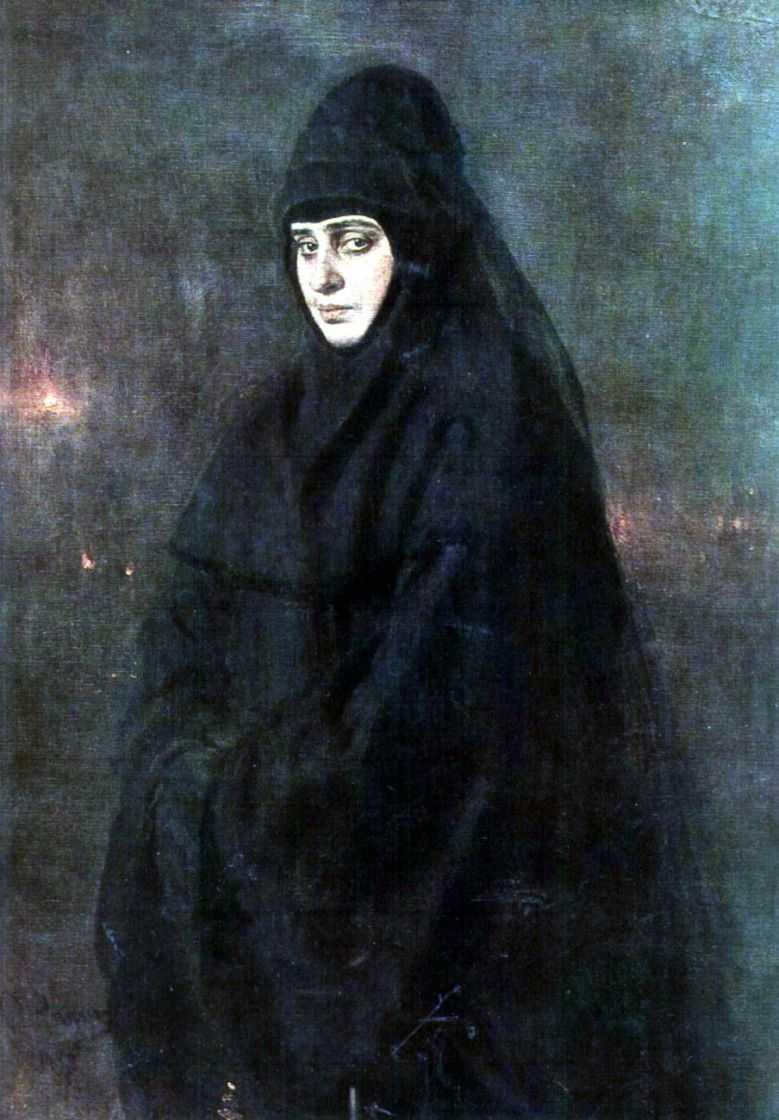 Монахиня — Репин Илья Ефимович