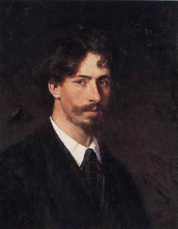 Автопортрет. 1878г. — Репин Илья Ефимович