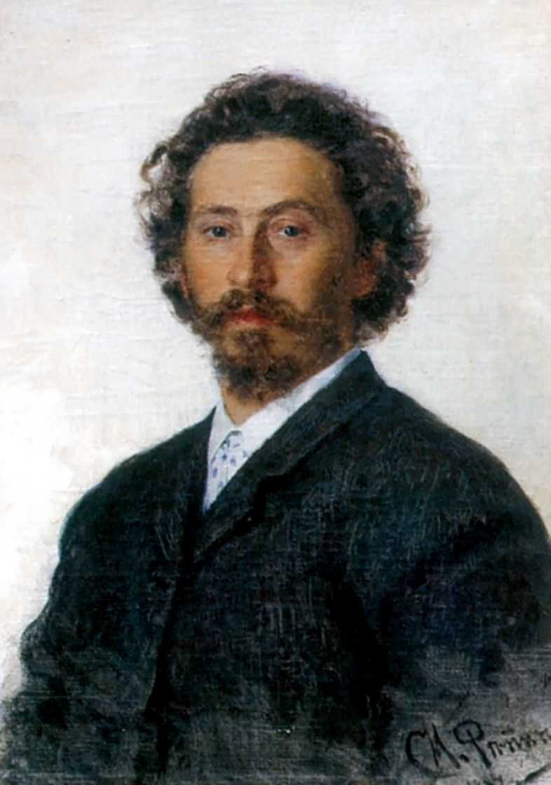 Автопортрет. 1887 — Репин Илья Ефимович