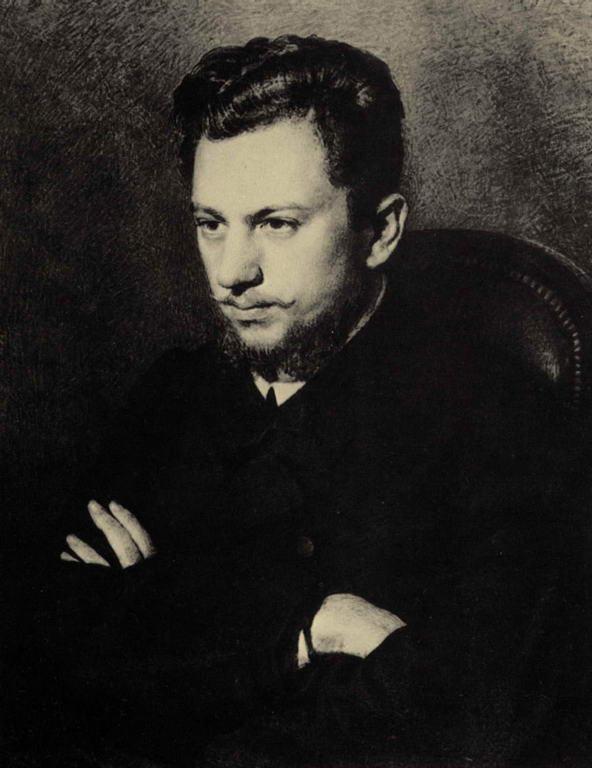 Портрет А.В.Прахова — Репин Илья Ефимович