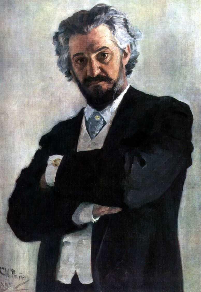 Портрет Александра Вержбиловича — Репин Илья Ефимович